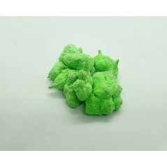 ice rock color green